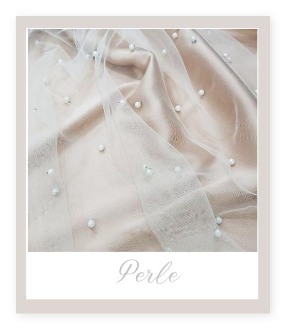 Materiale pentru Rochia de Mireasă: Perluțe
