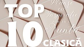 TOP 10 Planșe cu Inspirație pentru o Nuntă CLASICĂ
