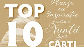 TOP 10 Planșe cu Inspirație pentru o Nuntă după CĂRȚI