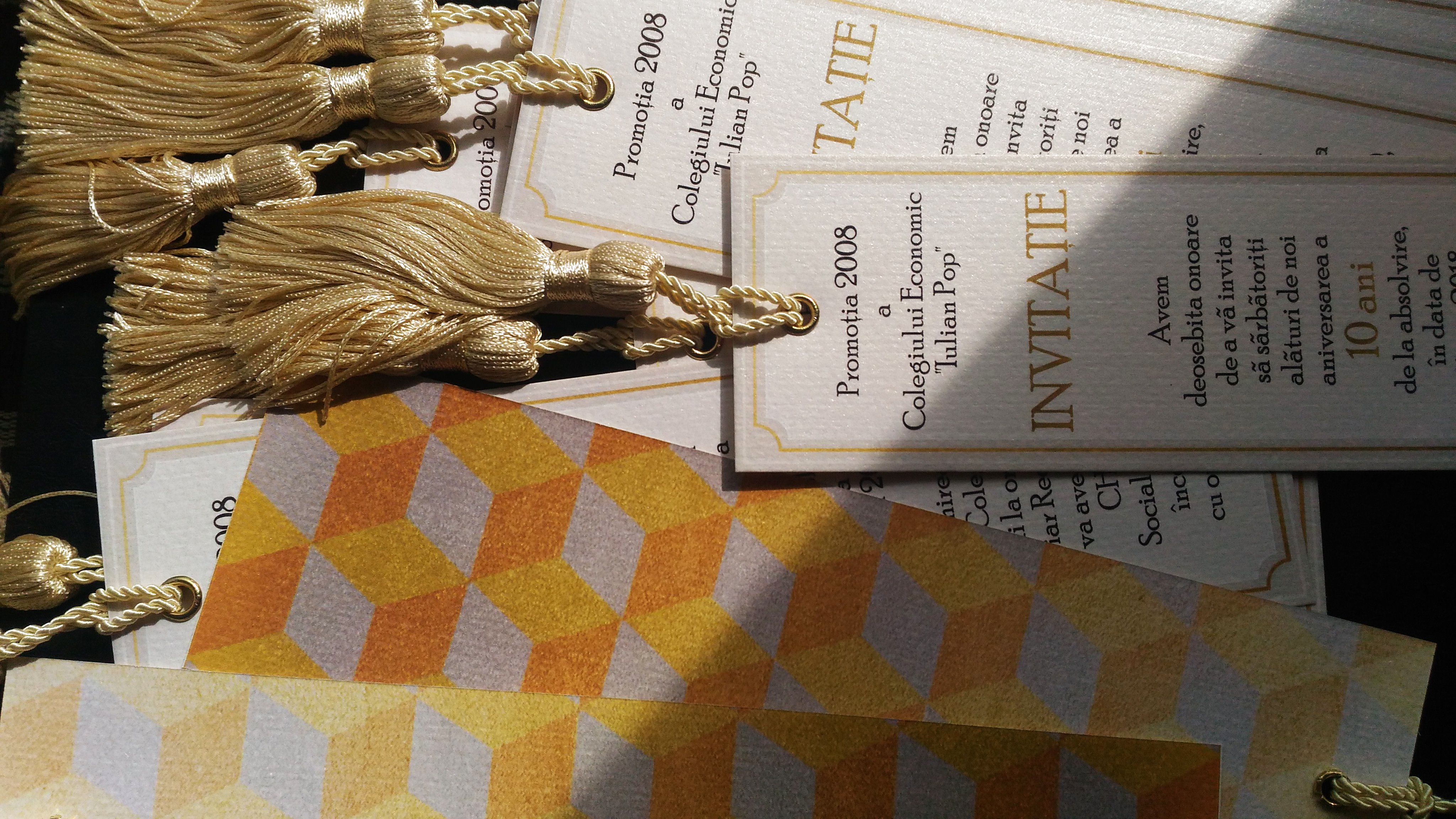 Invitație Aniversare Absolvire