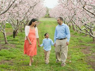 Family - Aparna, Avi & Ajit