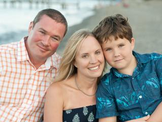 Family-Adrienne, Rob & Riley