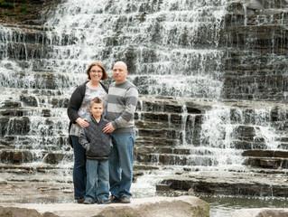 Family - Nair, Lance & Santiago