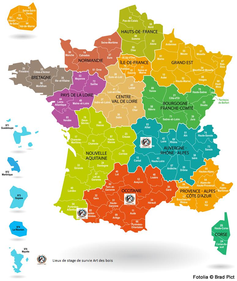 Stage de survie Art des bois en France