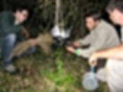 Stage de survie Fabrication d un filtre à eau avec les stagiaires