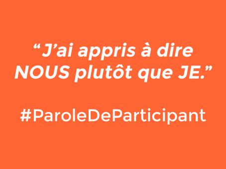 FORMATION EN DÉVELOPPEMENT DES COMPÉTENCES MANAGÉRIALES : PAROLES DE PARTICIPANTS