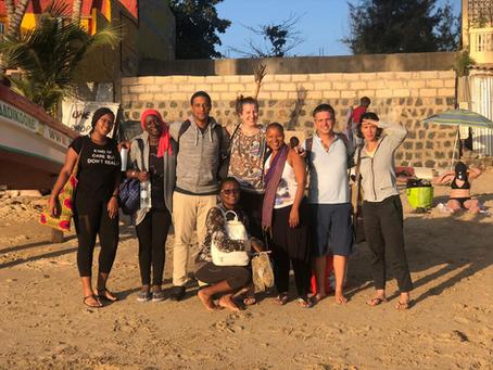 Retraite d'équipe sur l'île de NGOR