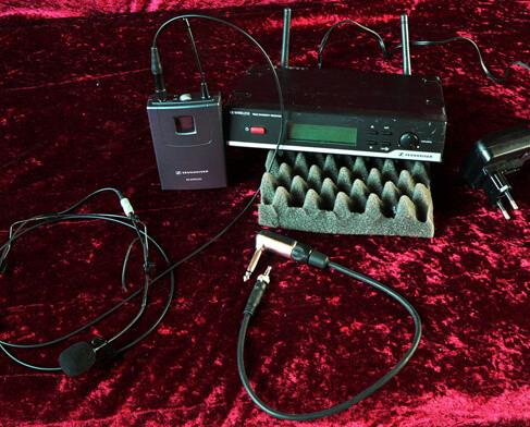 Sennheiser XS Wireless Head Set Alle Infos/Bilder + Kauf via ebay - Klick auf ein Foto