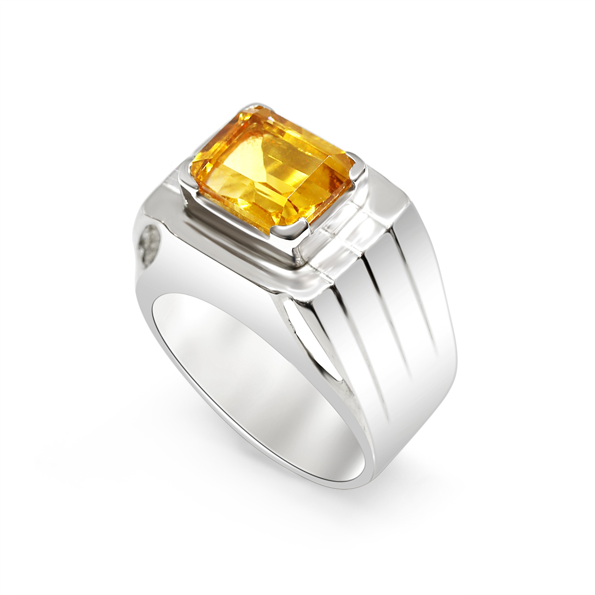 Brandy Citrine Ring