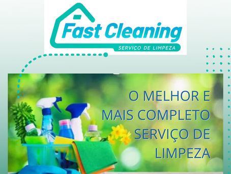 FAST CLEANING: O MELHOR E MAIS COMPLETO SERVIÇO DE LIMPEZA