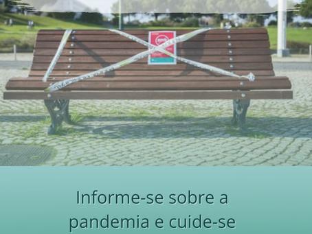 ÁREA METROPOLITANA DE LISBOA:        INFORME-SE SOBRE A PANDEMIA E CUIDE-SE