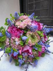 bouquet de mariée Printemps