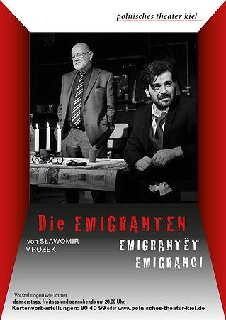 plakat_polnisches_theater_kiel_emigrante