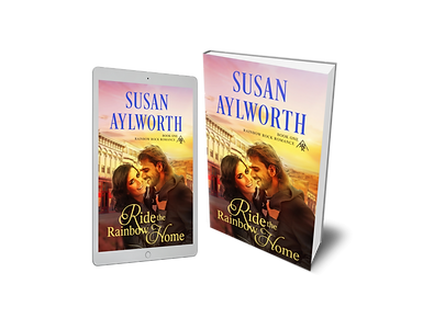 Ride the Rainbow Home by Susan Aylworth.