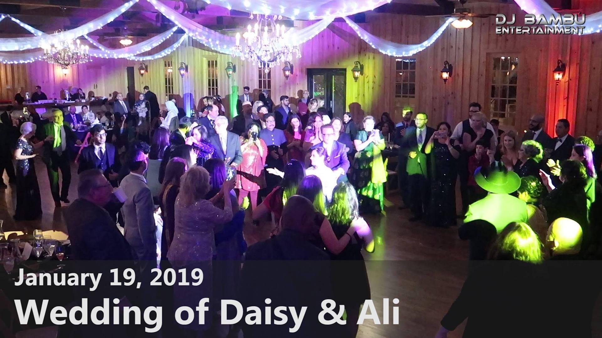 Daisy & Ali's Wedding (01/19/19)