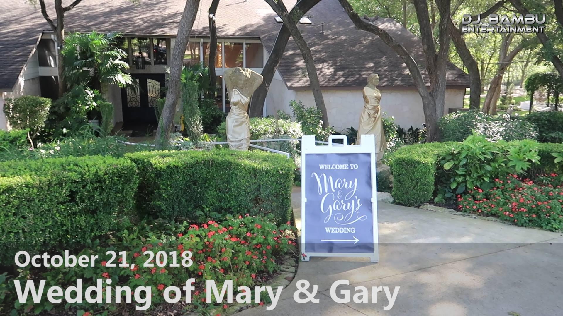 Mary & Gary's Wedding (10/21/18)