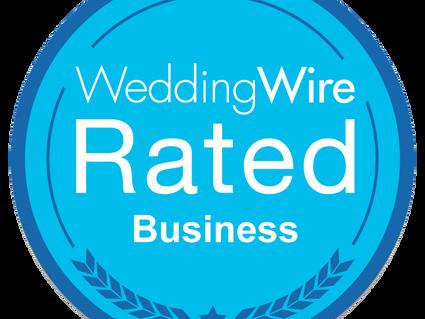 DJ Bambú Entertainment Receives Blue WeddingWire Rated™ Badge