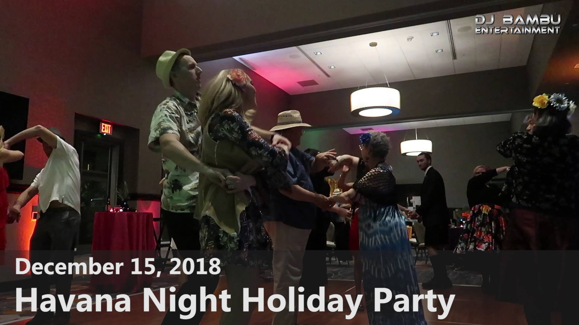 "Exfluor Research Corp's ""Havana Night"" Holiday Party (12/15/18)"