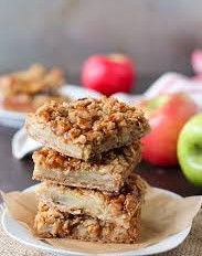 Apple Pie Crumb Bars {GF DF Paleo & Vegan}