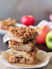 Apple Pie Crumb Bars {GF DF Paleo & Vegan}