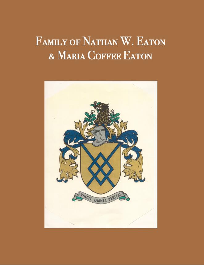 Family of Nathan W. Eaton