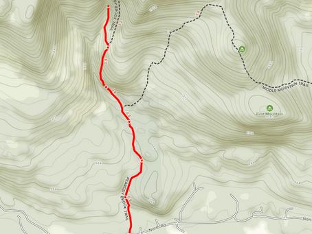 Giant Falls via Peabody Brook Trail