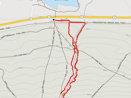 Valley Way, The Brookside, Airline Trail Loop