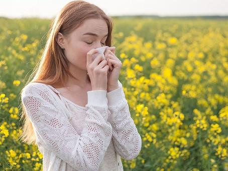 🤧 Allergies saisonnière traitées en  acupuncture!