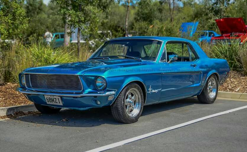 68 Mustang Coupe