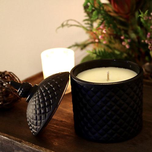 Keepsakes Matte Black Candle