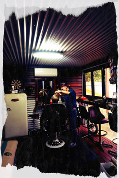 Jack Reed Barber Shop basement cut