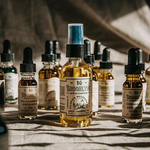 BROOKLYN GROOMING RECOVERY OIL