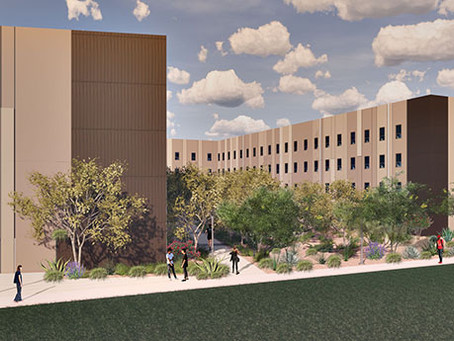 Construction Underway on 374-Bed Residence Hall at Arizona State University Polytechnic