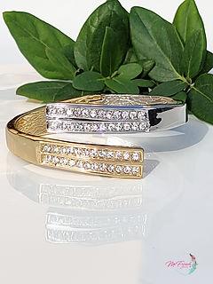 Gold Silver cuff, elegant cuff, handmade jewellery, sparkly bracelet