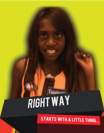 Right Way - Peppimenarti School