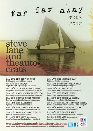 Far, far Away Tour 2012