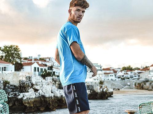 Intact Navy Jogger Shorts