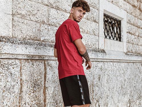 Intact Black Jogger Shorts