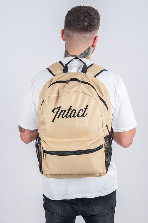 18 Sandy and Black Rucksack Bag
