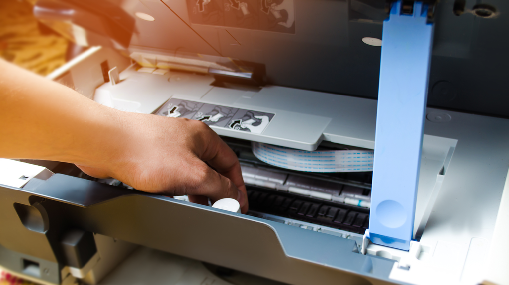 How to change a toner on your Oki Photocopier