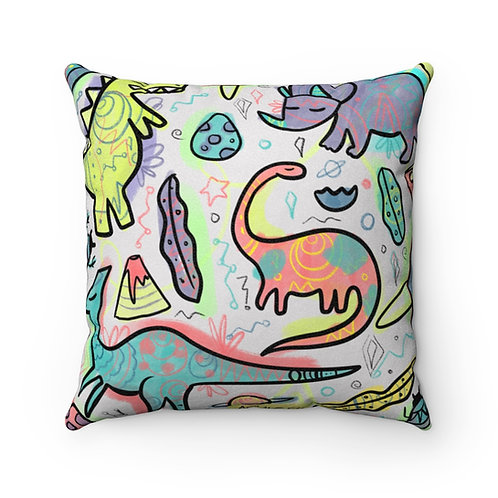 Dino Dream Faux Pillow