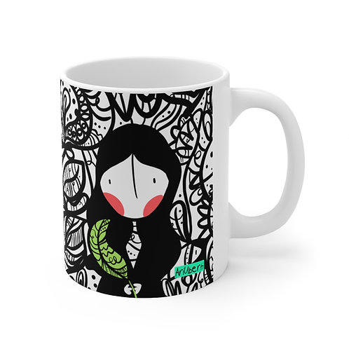 Girl on a tree Mug