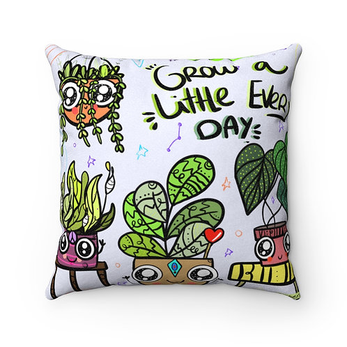 Grow a little Faux Pillow