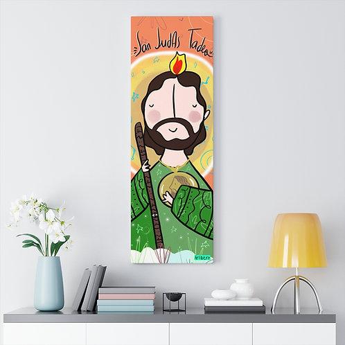 San Judas Tadeo Lienzo 36x12