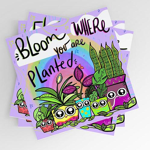 Planted 8x8 print