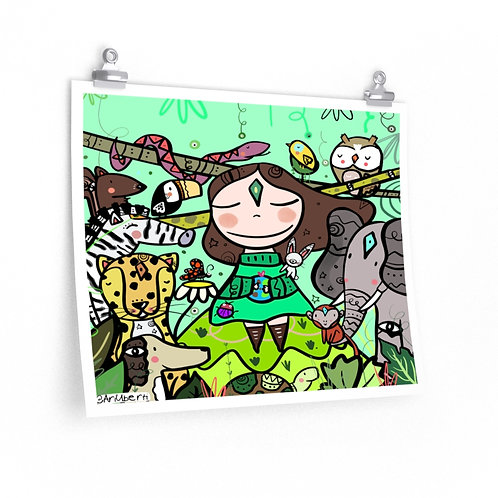 Nature Girl poster 20x16