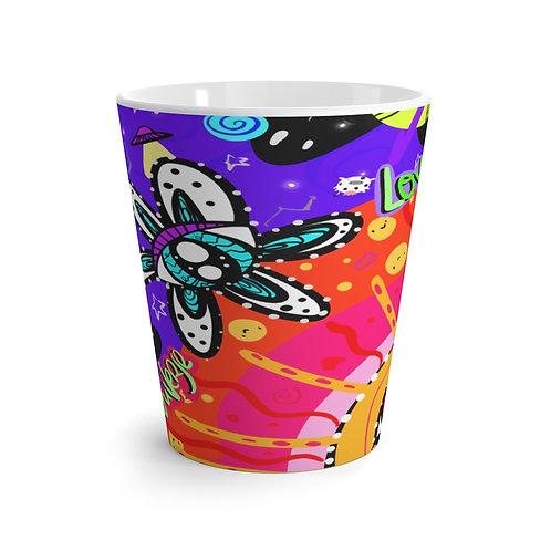 The universe loves me LATTE mug!