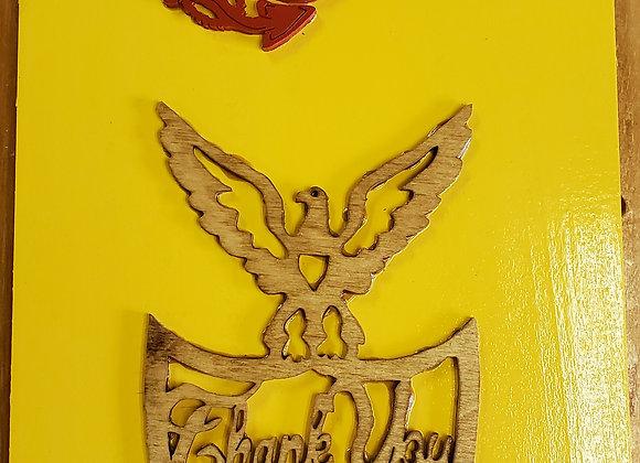 United States Marine Corp Plaque