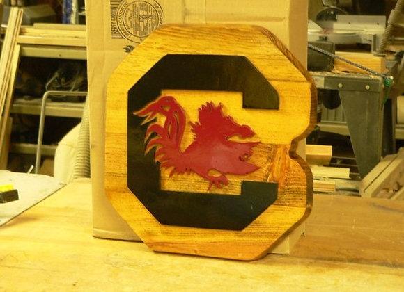 South Carolina Gamecock Plaque
