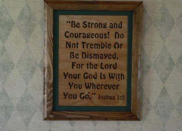 Words of Faith Joshua 1:9